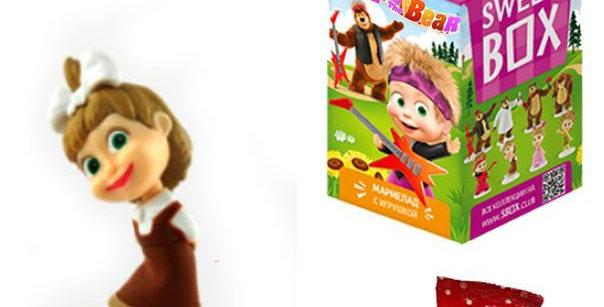 сладость и игрушка 10гр