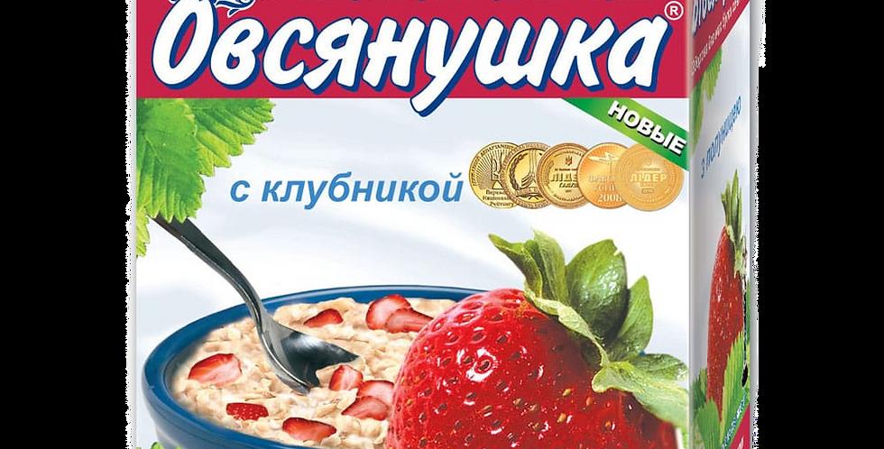 """""""Овсянушка"""" с клубникой"""