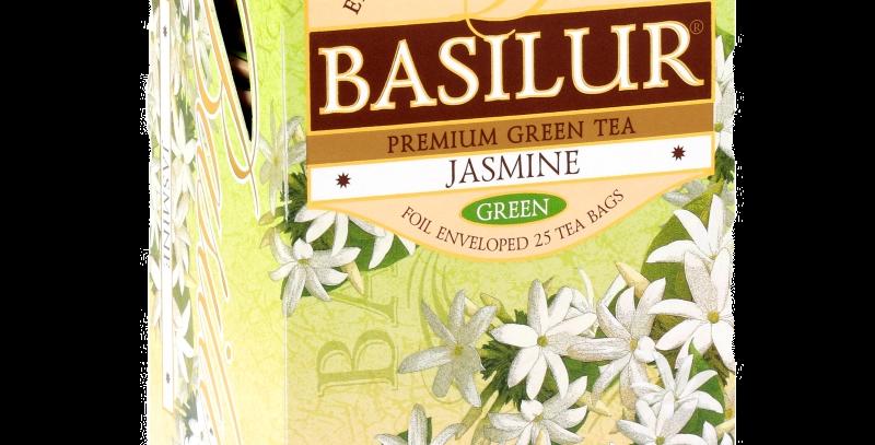 чай зелёный с жасмином ,,BASILUR,, 25*1.5 гр