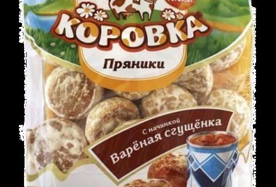 пряники с варёной сгущёнкой  КОРОВКА 300гр