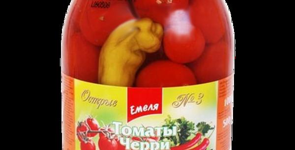 томаты ЧЕРРИ острые 1л