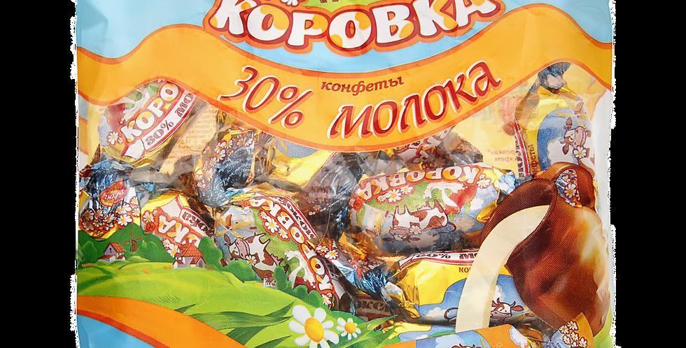 конфеты КОРОВКА 250гр (30% молока)
