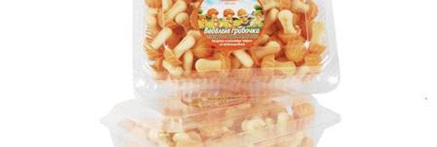 печенье ,,Весёлые грибочки,,карамельные 250гр