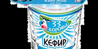 кефир 33 КОРОВЫ 500ml