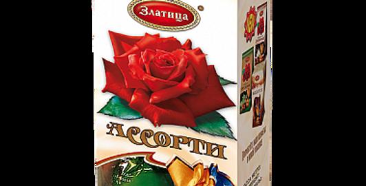 Конфеты ассорти ЗЛАТИЦА 200гр