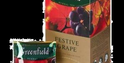 чай Festive Grape ,,GREENFIELD ,,