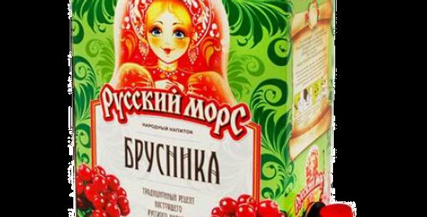 русский морс,,БРУСНИКА,,(с кран.) 3л