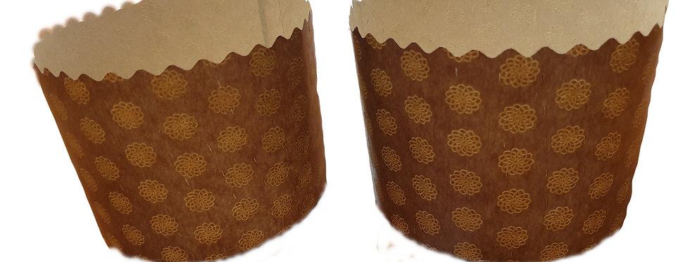 бумажная форма для кулича Ф=13*8,5 см