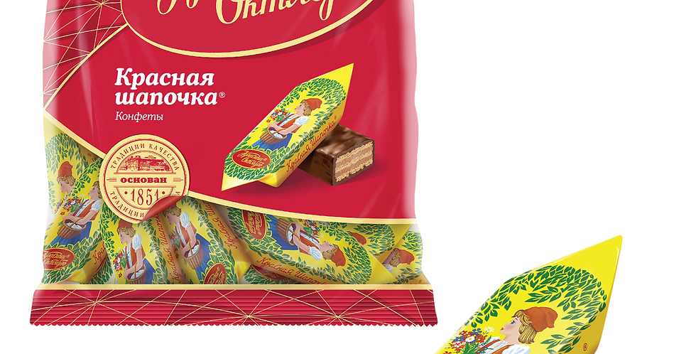 конфеты КРАСНАЯ ШАПОЧКА 250 гр