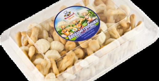 печенье ,,Весёлые грибочки,,бел.шок. 250гр