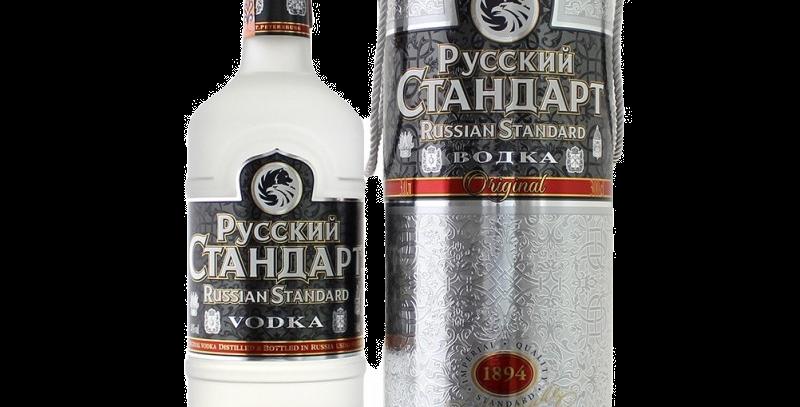 водка РУССКИЙ СТАНДАРТ 40% . 3л