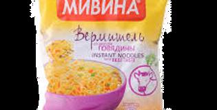 вермишель быстрого приготовления со вкусом ГОВЯДИНЫ 50гр
