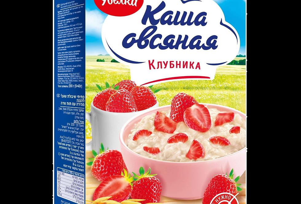 каша овсяная КЛУБНИКА быстрого приготовления 5 порций