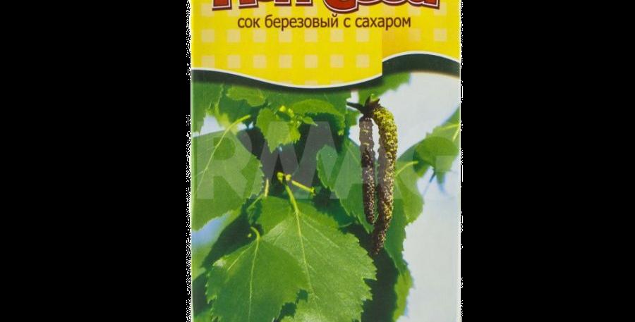 сок берёзовый с сахаром НЕПОСЕДА 1л