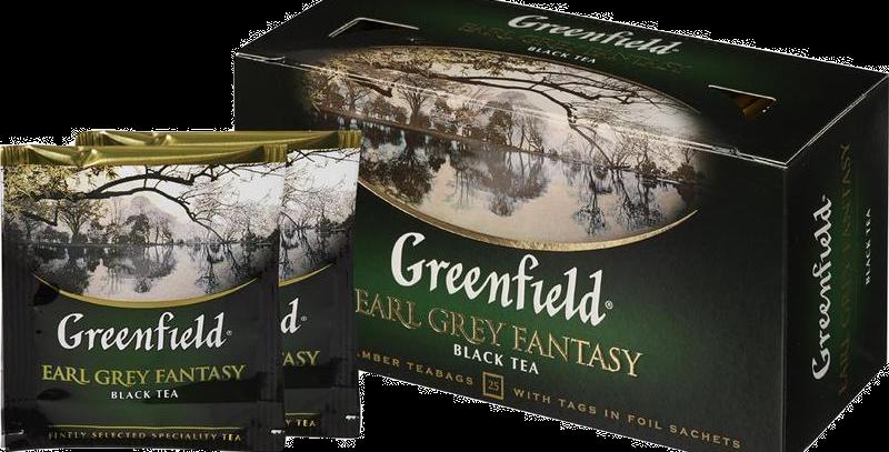 чай GREENFIELD с бергамотом 25шт * 1.5гр