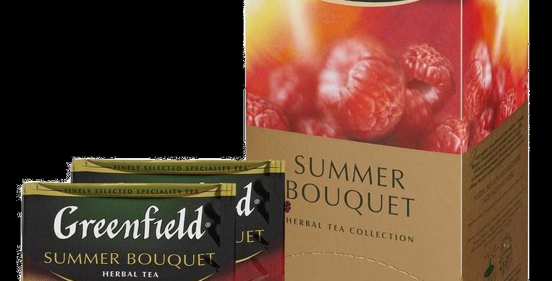 чай GREENFIELD летние фрукты 25шт * 1.5гр