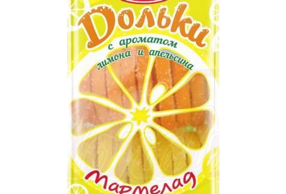 мармелад ЛИМОН/АПЕЛЬСИН 240гр