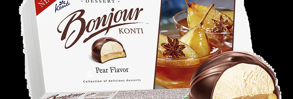 десерт  BONJOUR грушевый 232 гр
