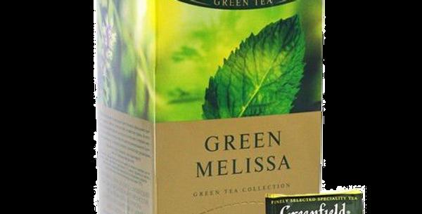 чай GREENFIELD зелёная мята 25шт * 1.5гр