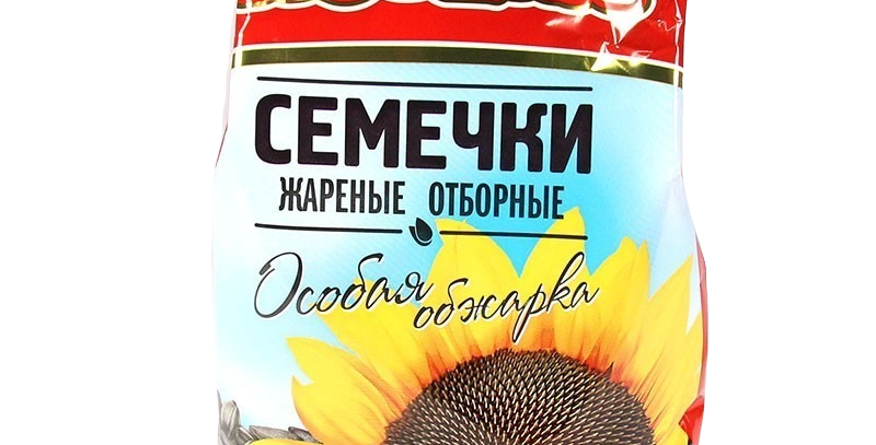 """Семечки """"Потеха""""особая обжарка 500гр"""
