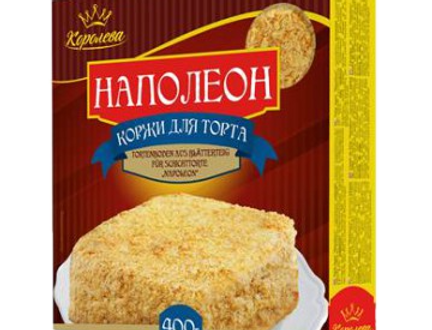 Коржи для торта Напалеон 400гр