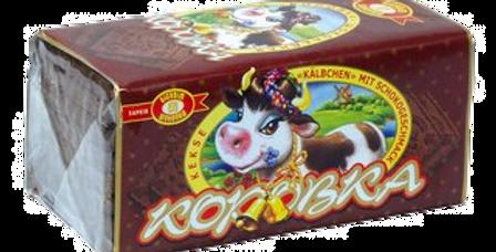 """Печенье """"коровка"""" со вкусом шоколада 180гр"""