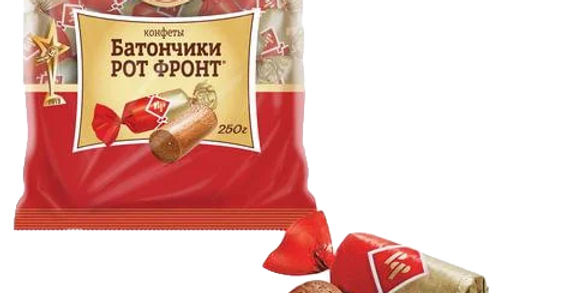 конфеты БАТОНЧИКИ Рот-Фронт 250гр