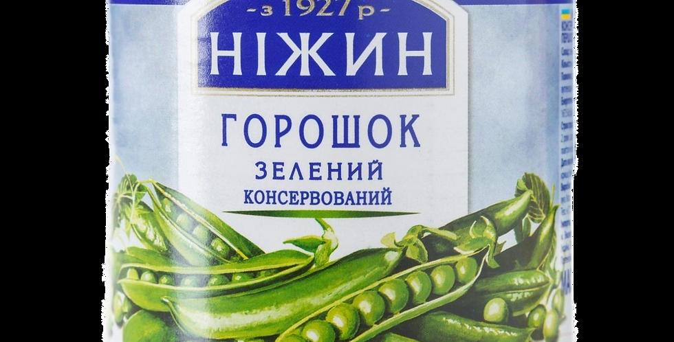 Горошек зелёный консервированный 420гр