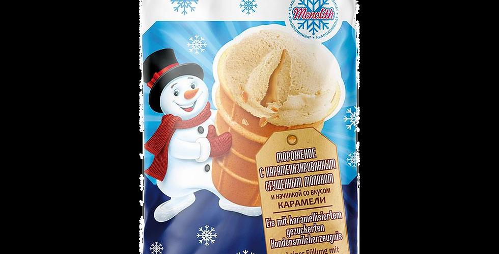 Мороженое  со вкусом карамели 130мл