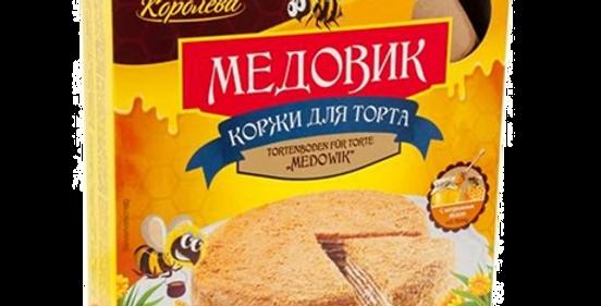 Коржи для торта Медовик 400гр