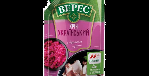 Хрен украинский красный 130гр