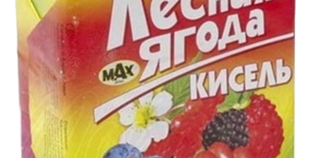 Кисель лесная ягода