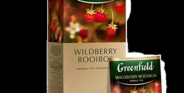 Чай Земляника GREENFIELD 25*1,5гр