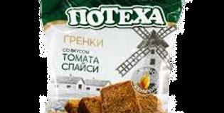 гренки со вкусом ТОМАТА СПАЙСИ 80гр
