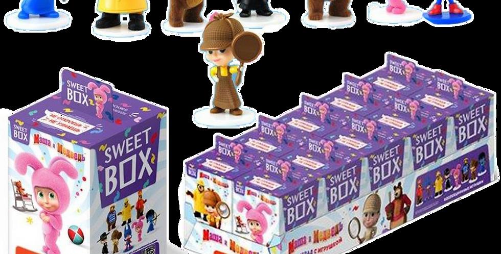 SBOX игрушка+мармелад (Маша и Медведь) 10гр