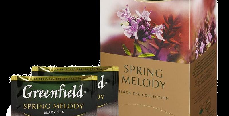 чай GREENFIELD с душистыми травами 25шт * 1.5гр
