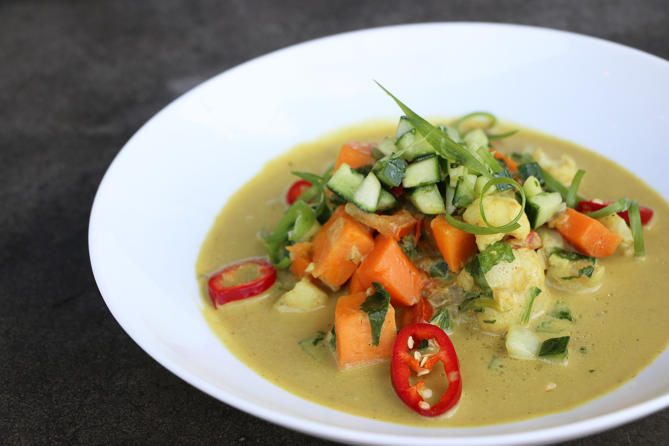 Yellow Curry Bowl