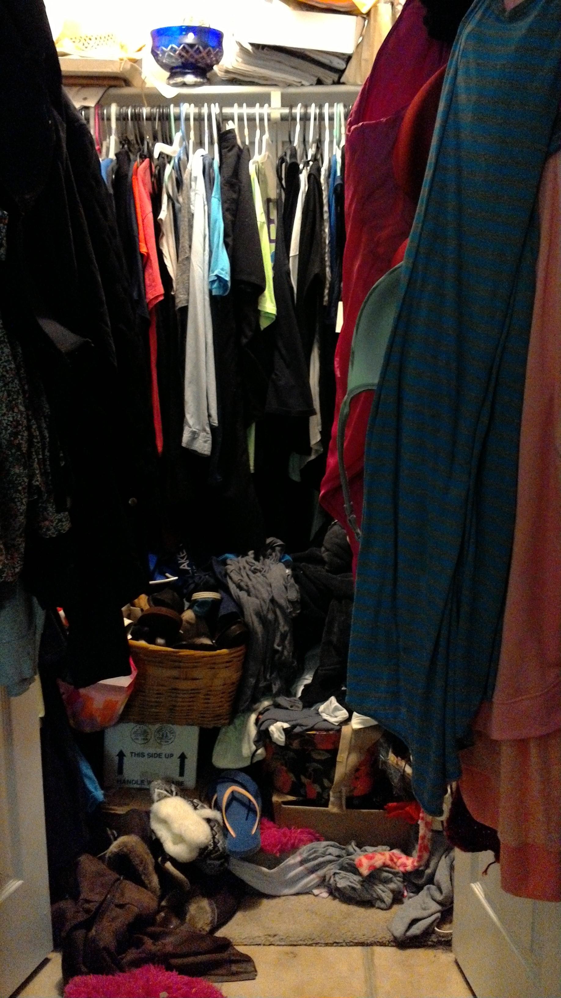 Closet Before -1