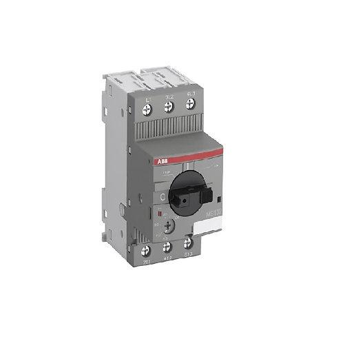 Guardamotor MS132,  Corriente de sobrecarga desde 0.6 hasta 32A, Icu hasta 100kA
