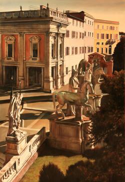 Le statue al Campidoglio