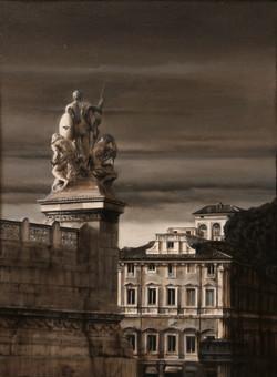 Statue a Piazza Venezia