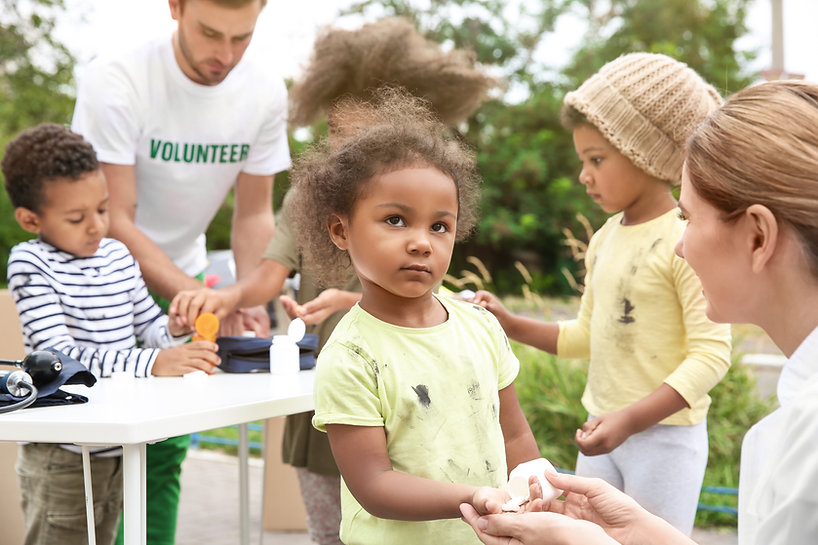 Volunteering with Kids