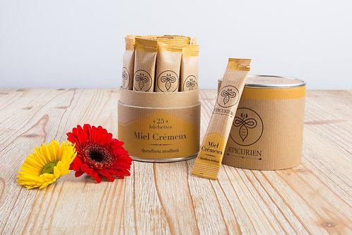 Boite de 25 bûchettes de miel Crémeux
