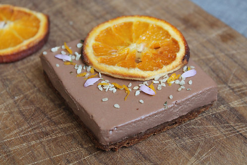 CHOCOLATE & ORANGE TARTLET