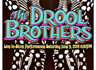 Drool Brothers - June 9th @ Pop Obscure Records - FREE!