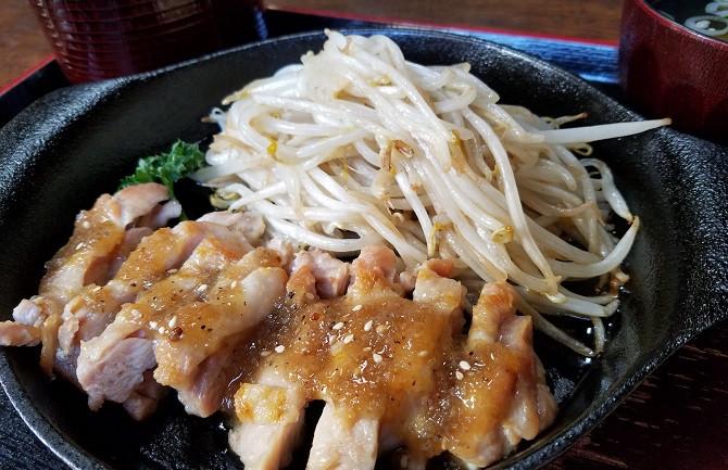 チキンステーキ定食 1000円(税込)