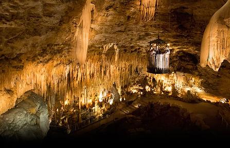 Druipsteen grotten bij le Grand Roc