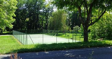 Tennisbaan van Auriac