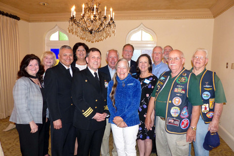 Reception for CO USS Jacksonville