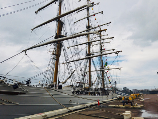 Brazilian Tall Ship Cisne Branco Visits Mayport
